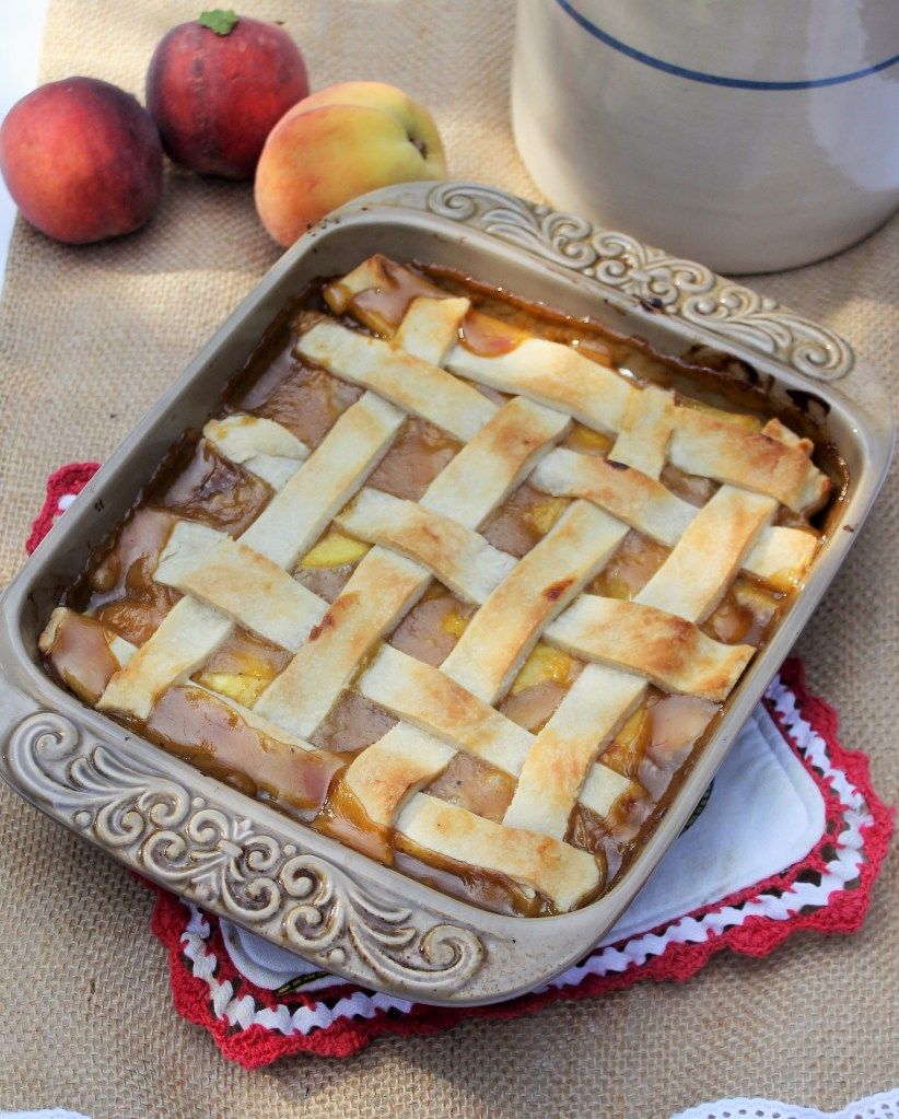Old-Fashioned Southern Peach Cobbler