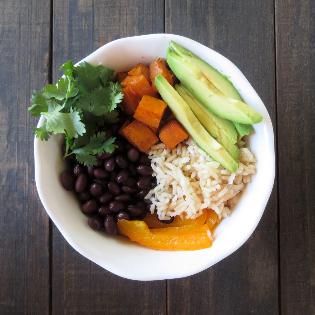 Sweet Potato and Black Bean Grain Bowl