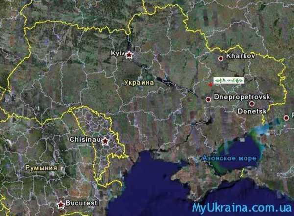 Карта Винницкой Области Спутника - executivepremium
