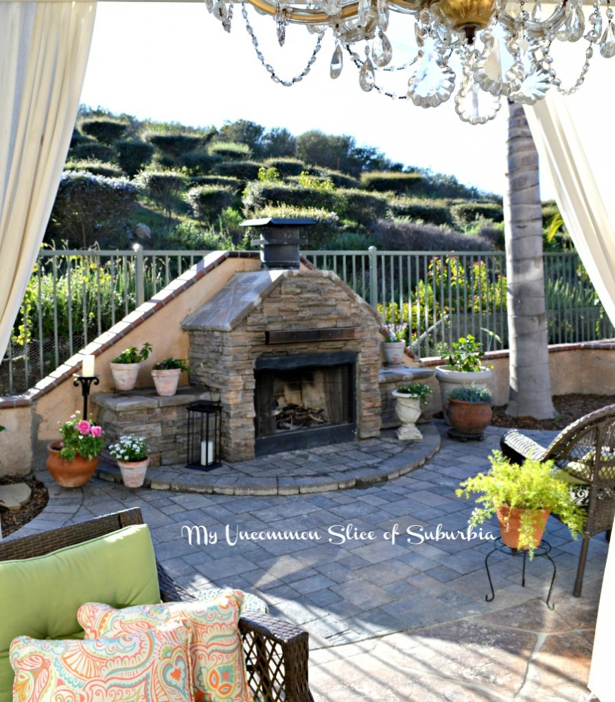 How to Build an Outdoor Stacked Stone Fireplace on Building Your Own Outdoor Fireplace id=99067