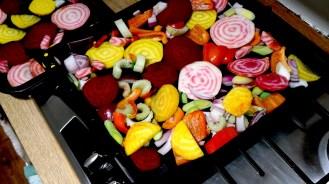 Candied Beetroot quinoa salad