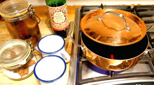 Mulled Wine Copper Pan