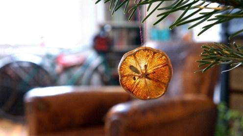 Dried Orange Christmas decoration