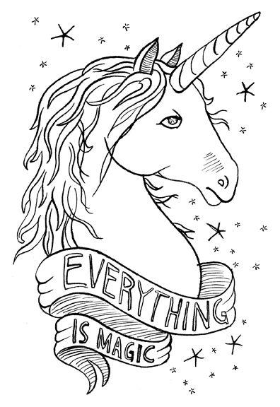 Livro de colorir de unicornio fofo perto de um fundo de arco iris. Imágenes de unicornios a lápiz listos para imprimir y