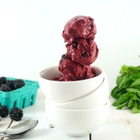 Healthy dairy-free Vitamix ice cream tips and tricks