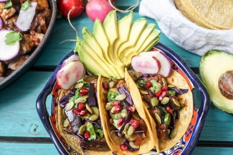 bbq eggplant rib tacos-3