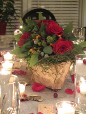 Holiday Centerpiece #2: Prices begin at $85