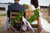 Bride & Groom, chairs, decorations