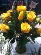 Dozen Roses: $70
