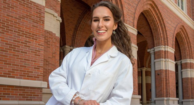 """I want to create my own scholarship to empower other students in STEM fields, to help them come to USC and pursue their dreams."""