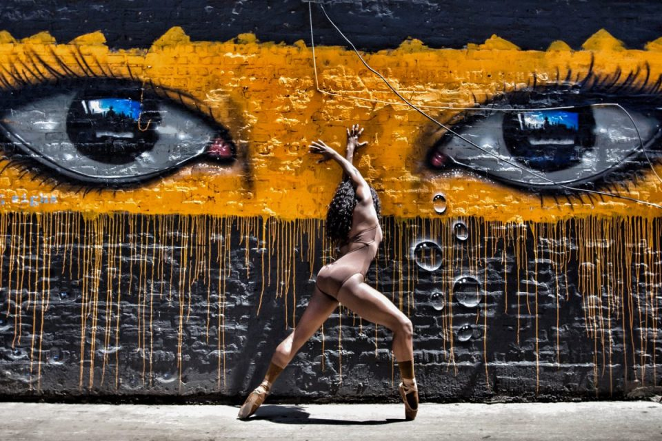 Ballerina Lenai Wilkerson is a member of the first graduating class of USC Kaufman School of Dance.