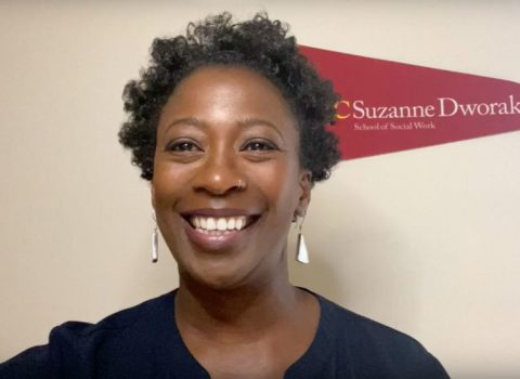 USC social work professor shares televised advice amid coronavirus fear