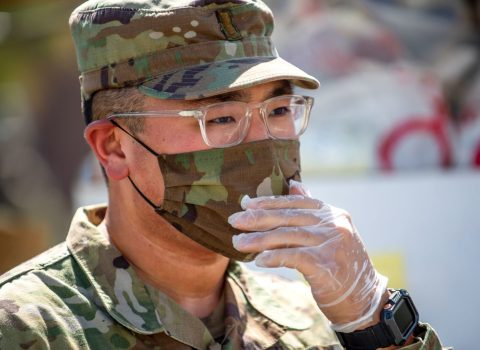 USC master's grad and National Guardsman serves those in need during COVID-19