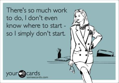 So Much Work