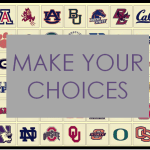 make your choices