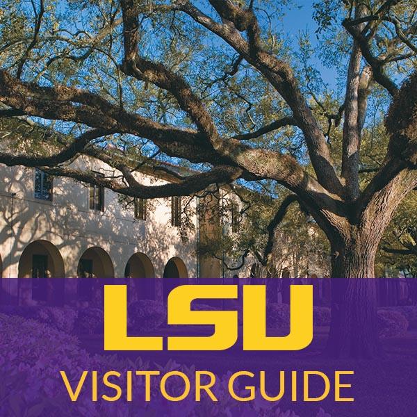 LSU Campus Visitor Guide Website