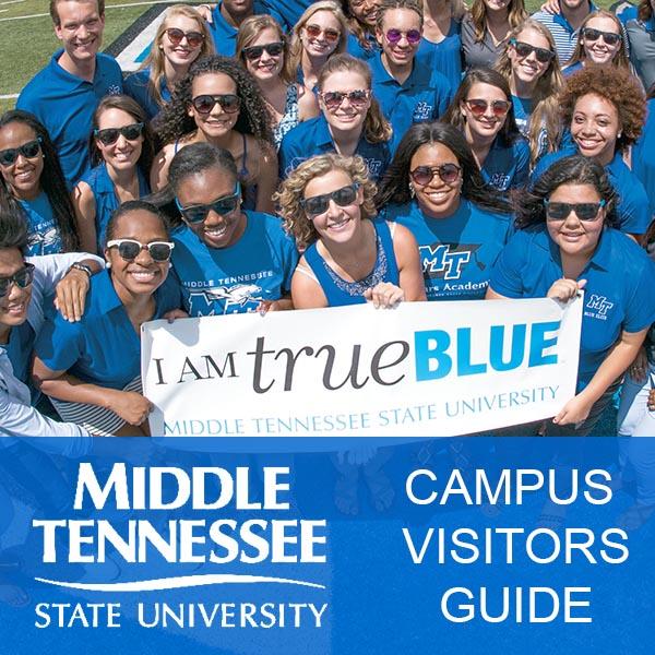 MTSU Visitors Guide Website