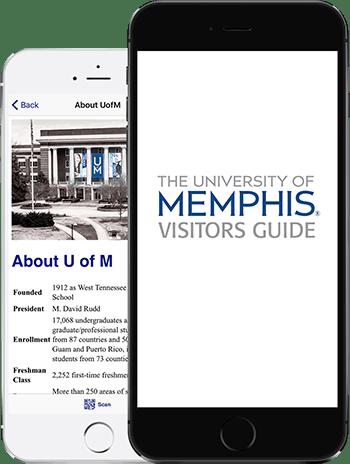 Visit UMPS App on 2 iPhones