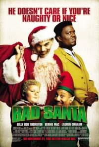 Bad Santa movie cover
