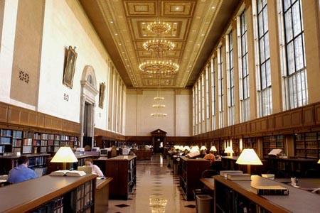 Inside Butler Library - Columbia University