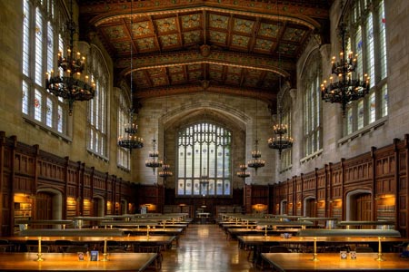 Inside Cook Legal Research Library - University of Michigan