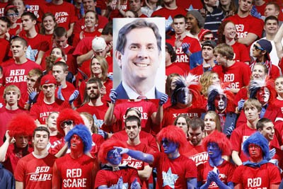 Dayton fans red scare