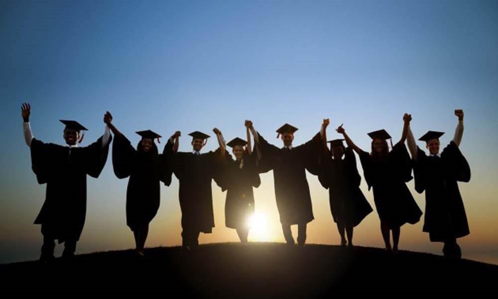 celebrating high school graduation