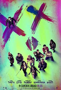 Suicide Squad movie cover