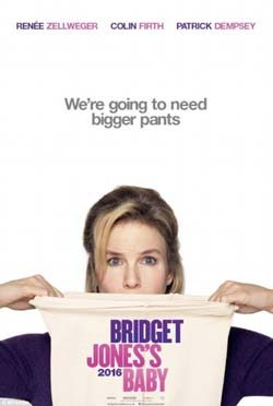 Bridget Jones's Baby movie cover