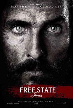 Free State of Jones movie cover