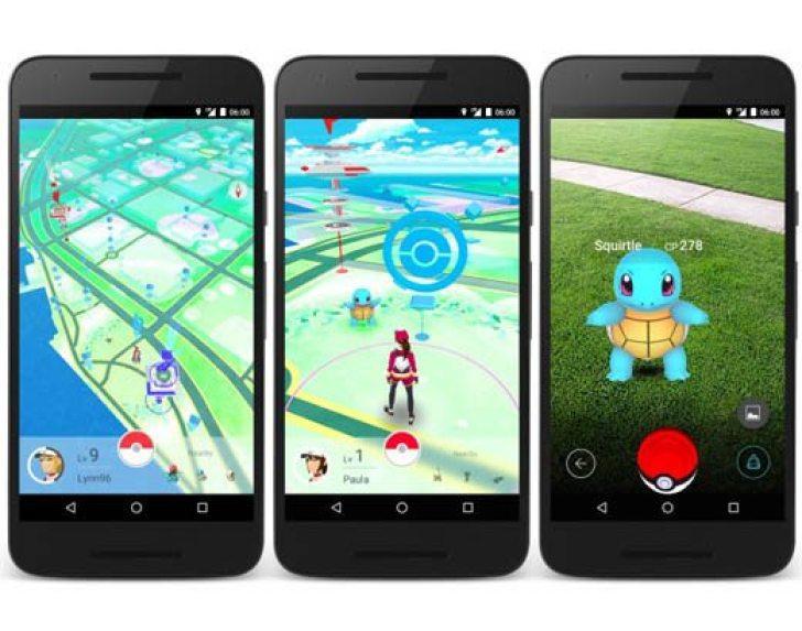 Pokemon GO screen shots