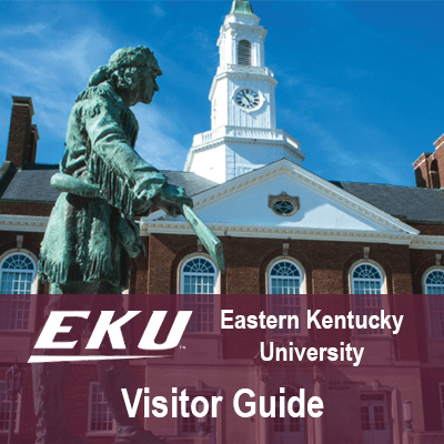 Eastern Kentucky University Visitor Guide Website