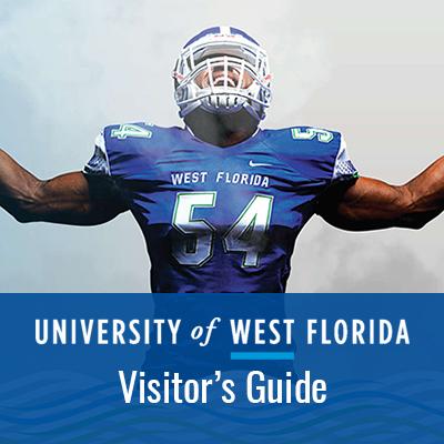 University Of West Florida Visitor Guide Website