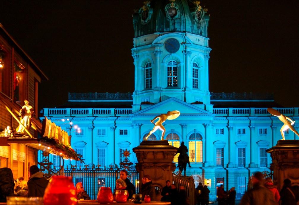 Weihnachtsmarkt Charlottenburg Palace
