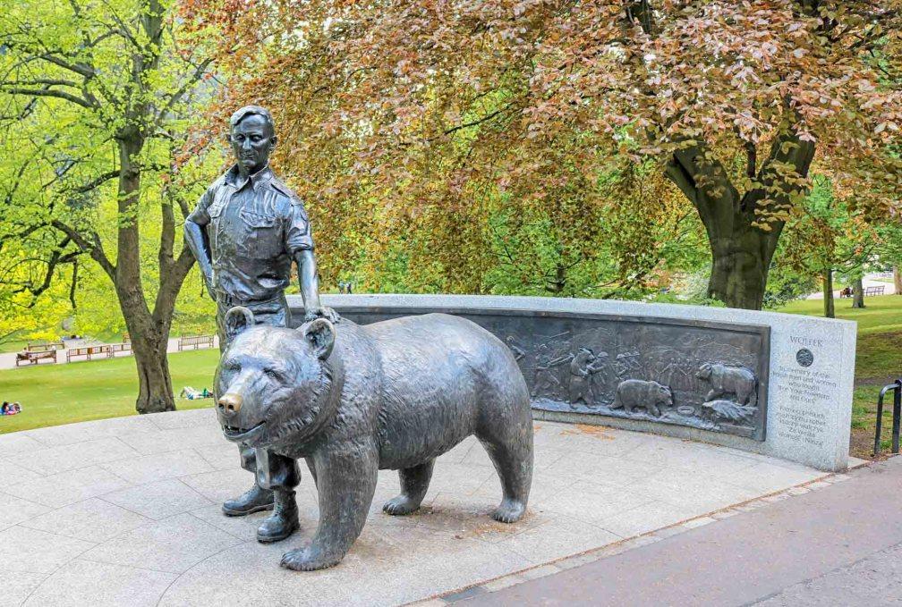 soldier bear, Wojtek