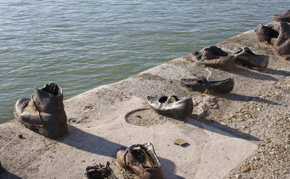 Shoes on the Danube Promenade