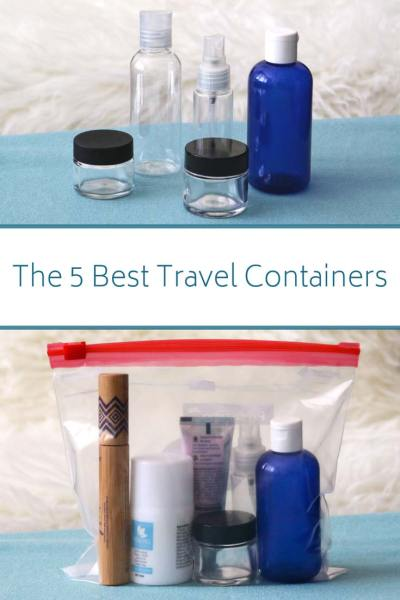 travel toiletry bottles