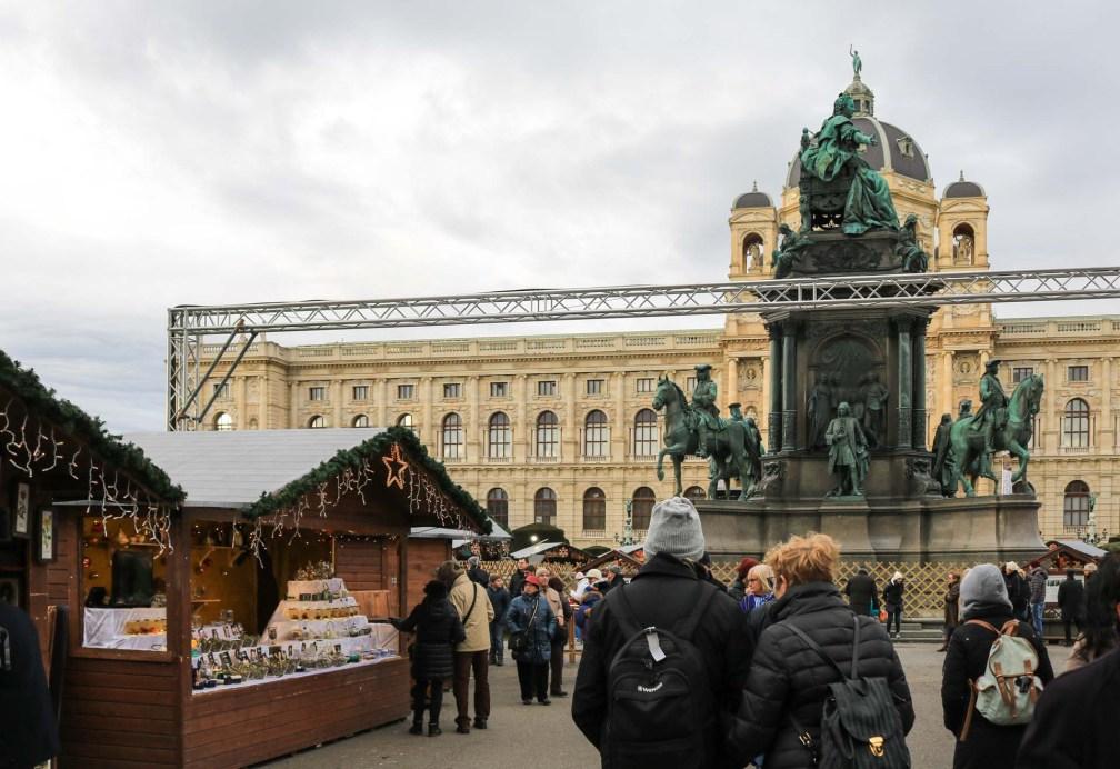 Christmas Village Maria-Theresien Platz