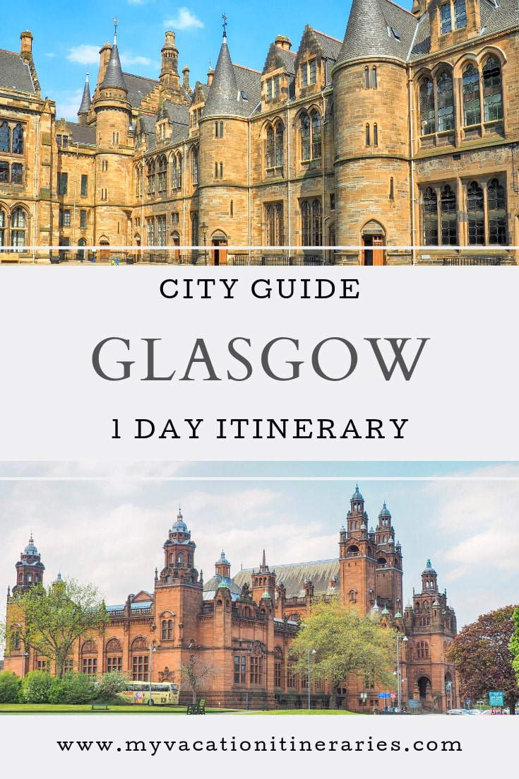 glasgow itinerary