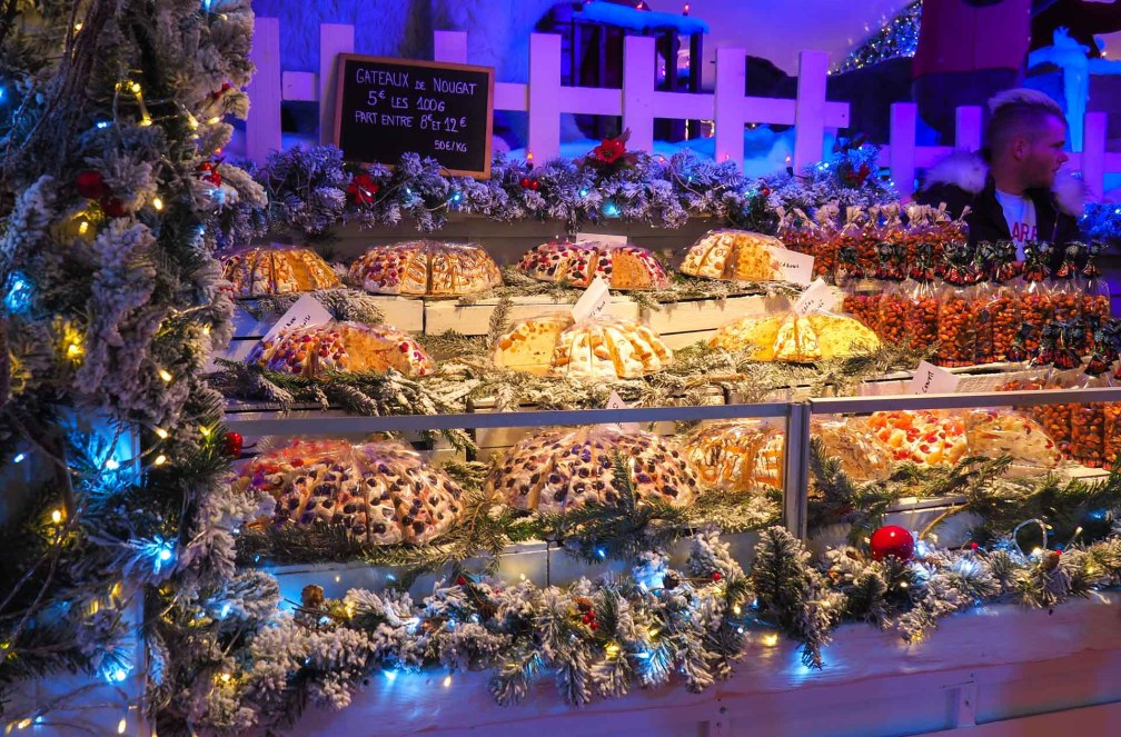 Brussels Christmas market food