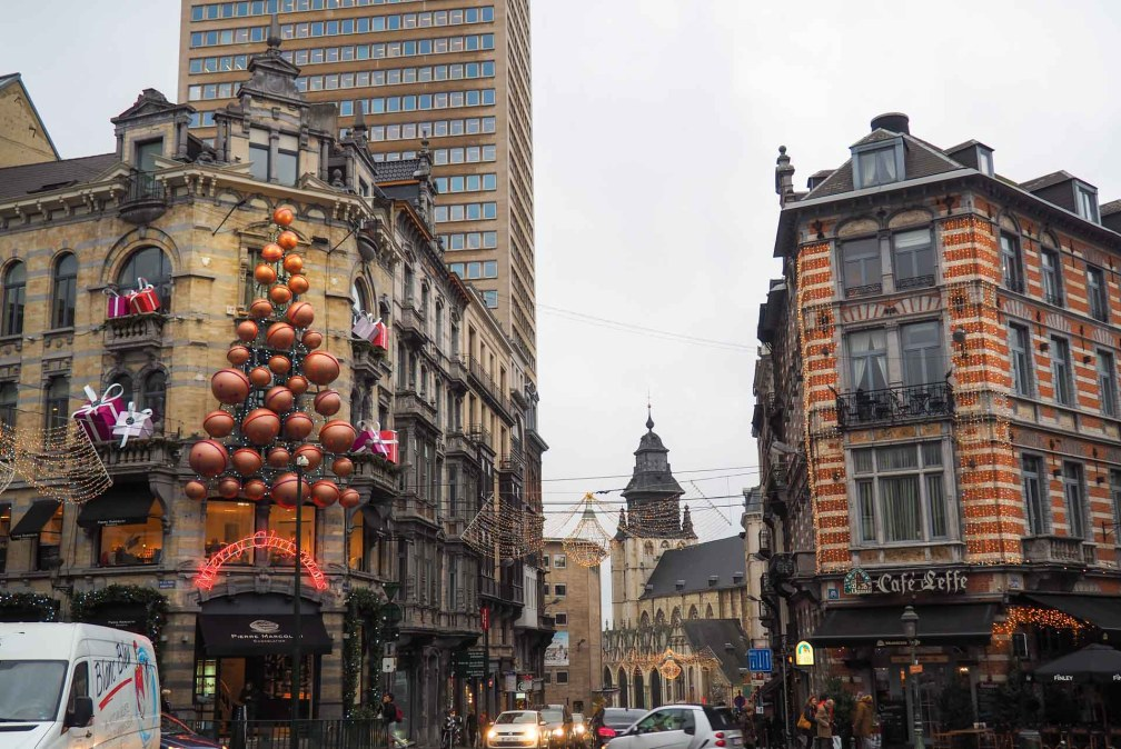 Brussels street decorations