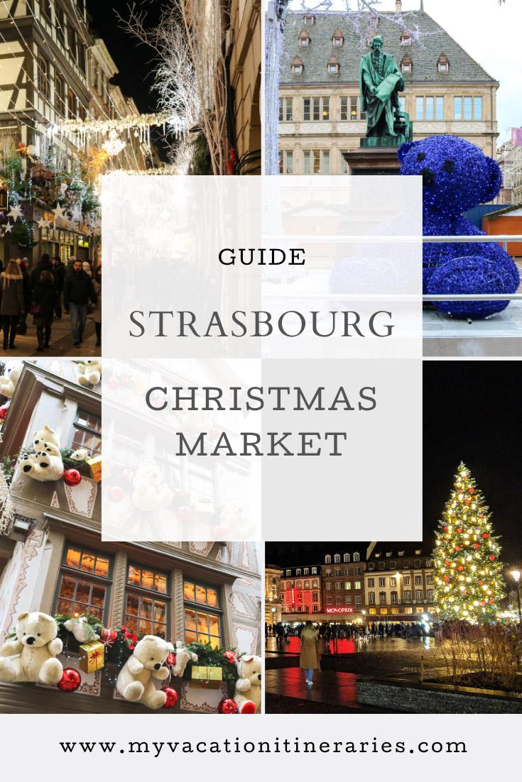 strasbourg christmas market 2021
