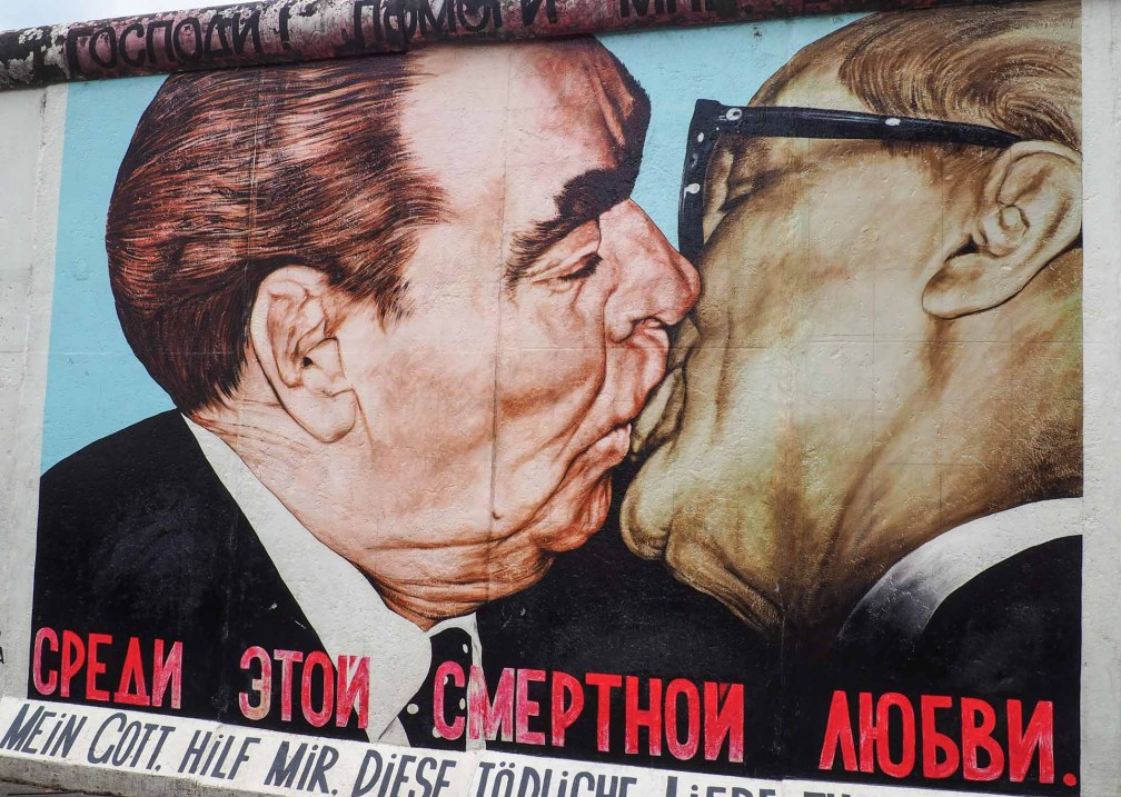Dmitri Vrubel's Fraternal Kiss