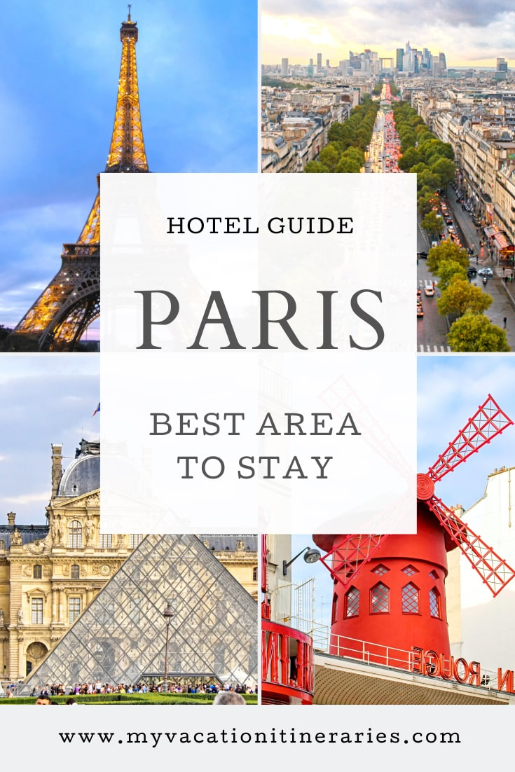 where to stay in paris for 3 nights