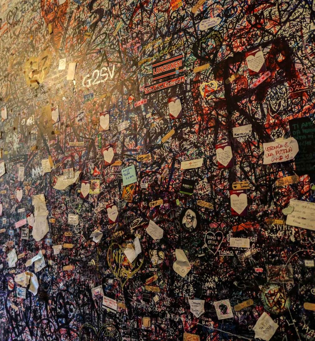 Juliet's House wall