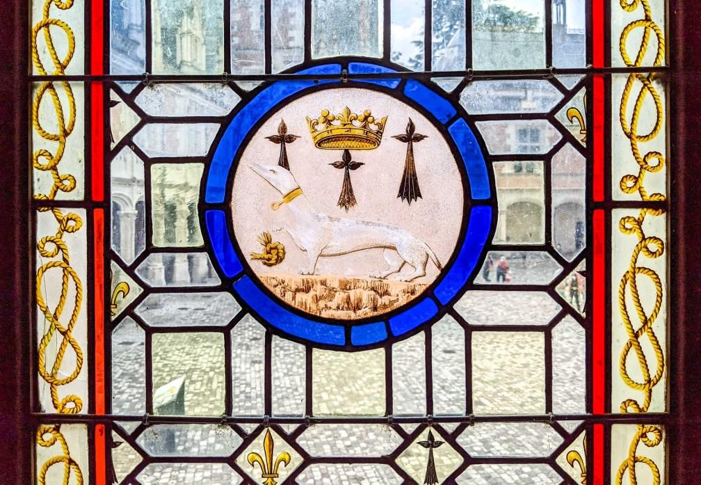 Château de Blois stained glass
