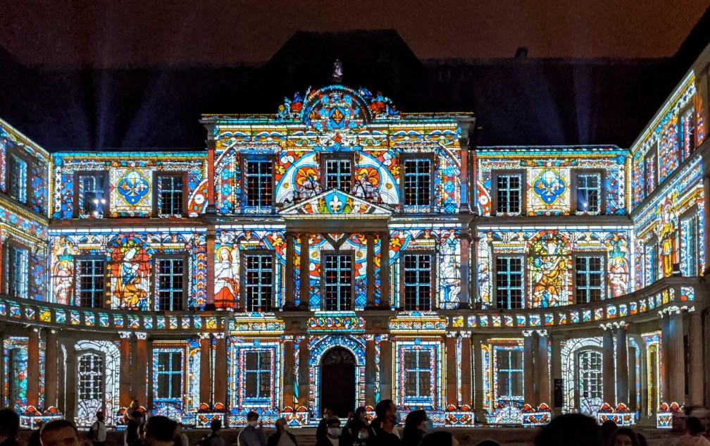 Château de Blois sound and light show