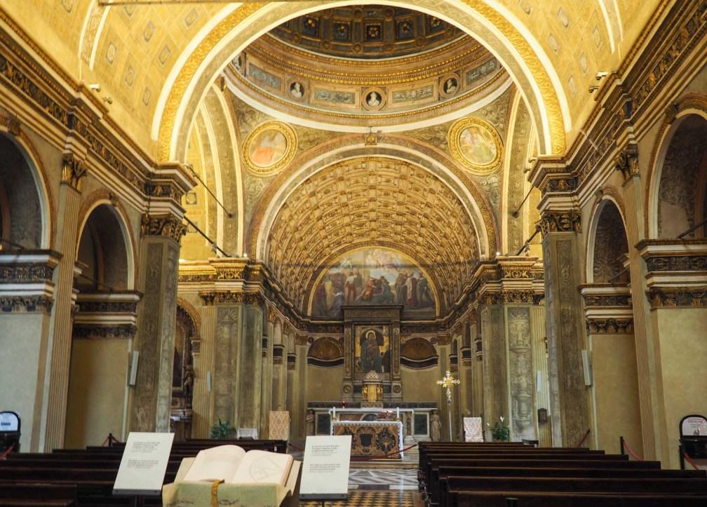 Санта Мария прессо Сан Сатиро Милан за один день Как посетить Милан за один день? milan santa maria satiro