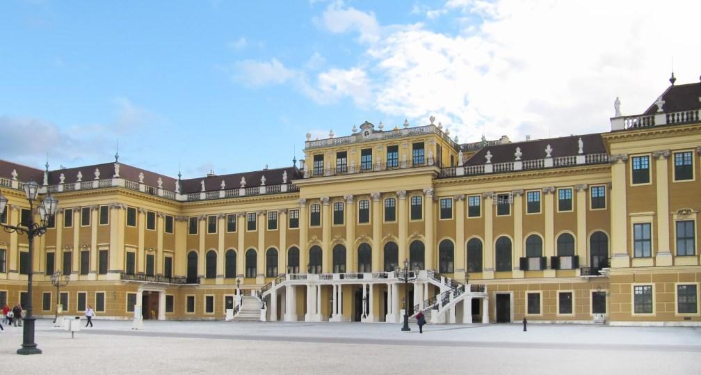 Дворец Шенбрунн Венский маршрут Венский маршрут vienna schonbrunn palace
