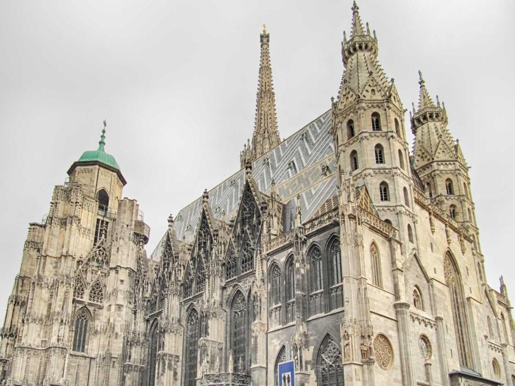 Собор Святого Стефана Венский маршрут Венский маршрут vienna stephens cathedral